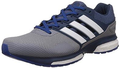 best sneakers c54da d2b1a adidas Herren Response Boost 2 Laufschuhe Grau (GreyMineral S16Eqt Blue  S16