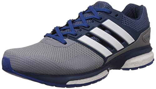 low priced c1cdb 079a0 ... good adidas response boost 2 mens running shoes grey grey mineral blue  s16 c55c8 26e63