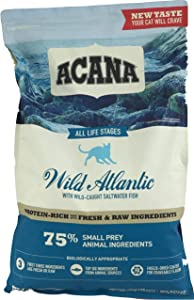 ACANA 2 Pack Regionals Wild Atlantic Dry Cat Food, 10 pounds each 2 Bags