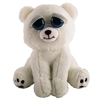Feisty Pets Peluche Oso Polar, única (Goliath Games 32326)