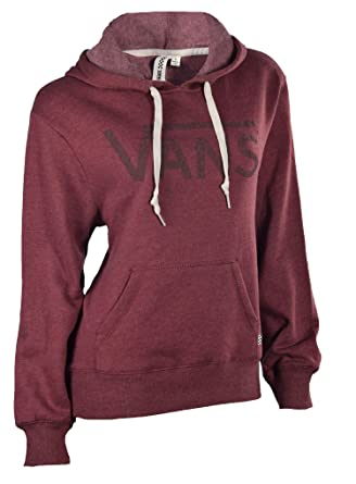 509c942f Vans Women Scoria Drop V Pullover Hoodie (L, Burgundy(360)) at Amazon  Women's Clothing store:
