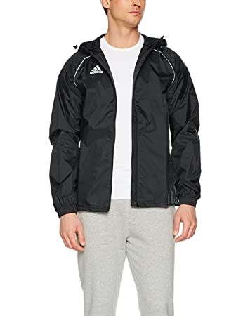 Adidas Men S Core18 Rain Jacket Men Amazon Co Uk Sports Outdoors