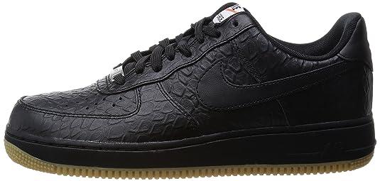 Nike NoirEu Air Noir Pour Lo Force 46 1 Homme Baskets Crocodile 3RLqjc54AS
