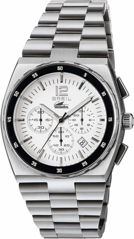Breil Reloj Cronógrafo para Hombre de Cuarzo con Correa en Acero Inoxidable TW1541