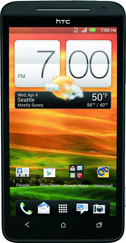 amazon com htc evo lte black 16gb sprint cell phones