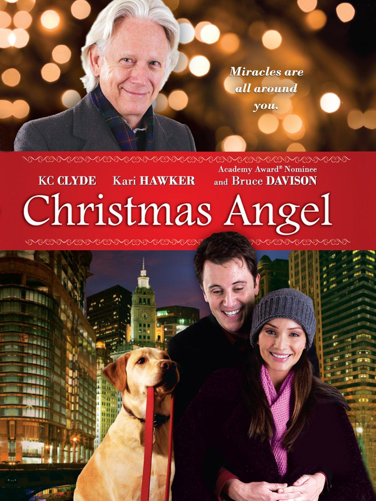 Amazon.com: Christmas Angel: Kari Hawker, Bruce Davison, KC Clyde ...