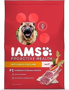IAMS Proactive Health Dry Dog Food, Lamb & Rice, 12.5 lbs. (Standard Packaging)