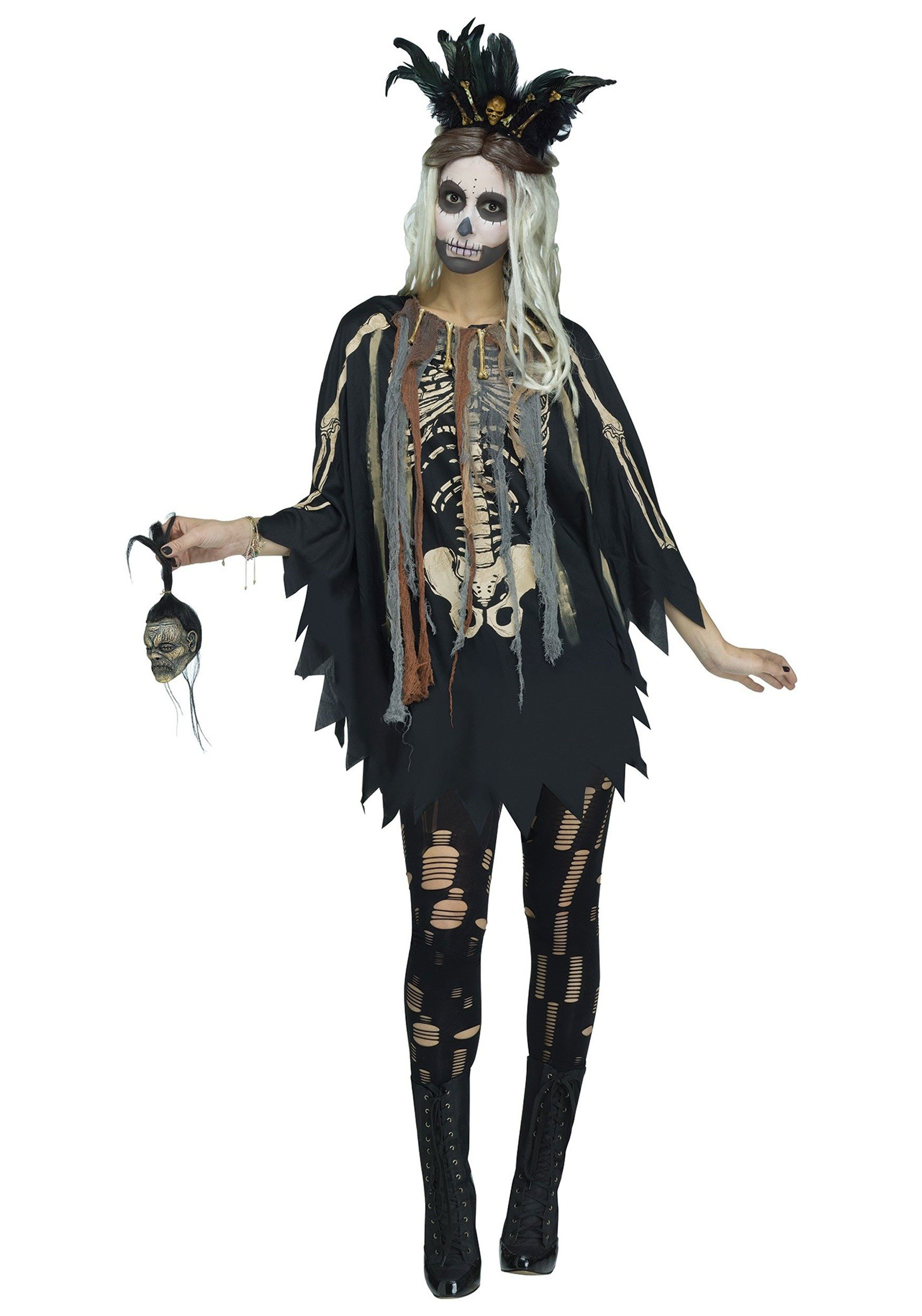 Fun World Women's Voodoo Poncho
