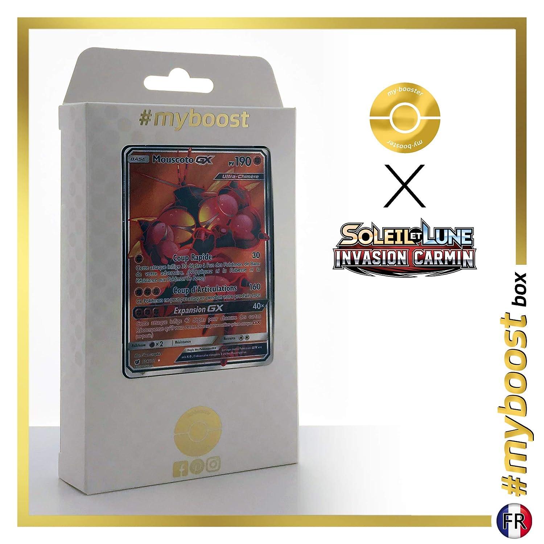 Buzzwole-GX 104/111 Full Art - #myboost X Sun & Moon 4 Crimson ...