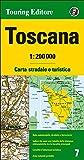 Toscana 1:200.000. Ediz. multilingue