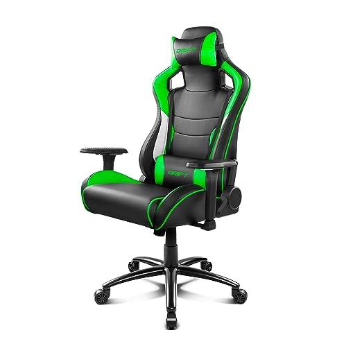 Drift DR400BG - Silla gaming, color negro y verde: Drift: Amazon.es: Informática