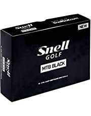 Snell MTB negro My tour pelotas de golf, color blanco (una docena)