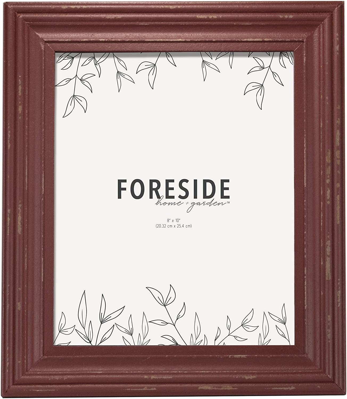 Foreside Home & Garden FFRD06232 8X10 Dalton Photo Frame Red