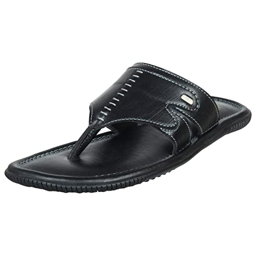 a7866688999 Duke Men Black Lifestyle Slippers  Buy Online at Low Prices in India -  Amazon.in