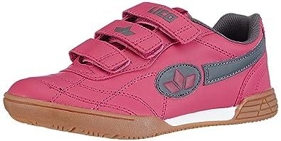 Lico Bernie V, Mädchen Hallenschuhe, Pink (pink/grau), 32 EU