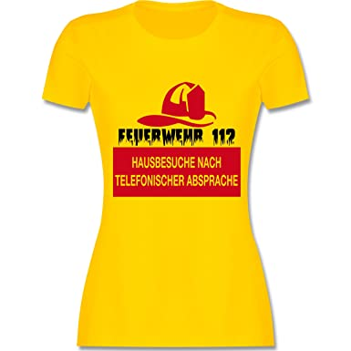 Feuerwehr - Feuerwehr 112 - Hausbesuche Nach telefonischer Absprache - S -  Gelb - L191 -