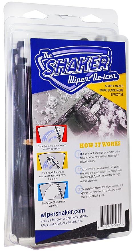 El Limpiaparabrisas Shaker anticongelante para eficaz parabrisas Hielo Remoción de nieve invierno/
