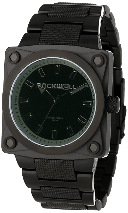 Amazon.com: Rockwell 747 Mens Quality Watches - Phantom Black / One Size: Watches