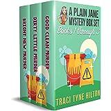 A Plain Jane Mystery Box Set: Books 1-3 Good Clean Murder, Dirty Little Murder, Bright New Murder A Christian Cozy Collection