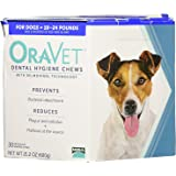 Frontline. Merial 30 Count Oravet Dental Hygiene Chew for Dogs 10-24lbs (Limited Edition)