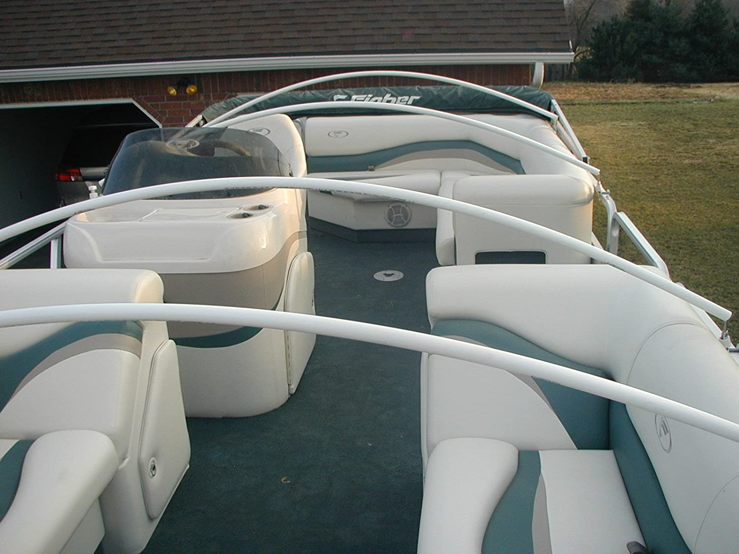Amazon.com : Arnallu0027s Standard Arch Support System For Pontoon Covers :  Pontoon And Playpen Style Boat Covers : Sports U0026 Outdoors