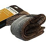 Hiking Socks Merino Wool - Tactical Warm & Cold Weather Gear - 1 Pair