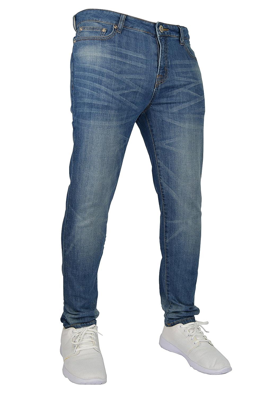 6a39ce432 Pantalon Denim pour Hommes Moulant Extensible 98% Coton et 2% Stretch,  Taille 37-38