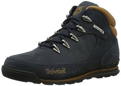 hiker timberland bleu