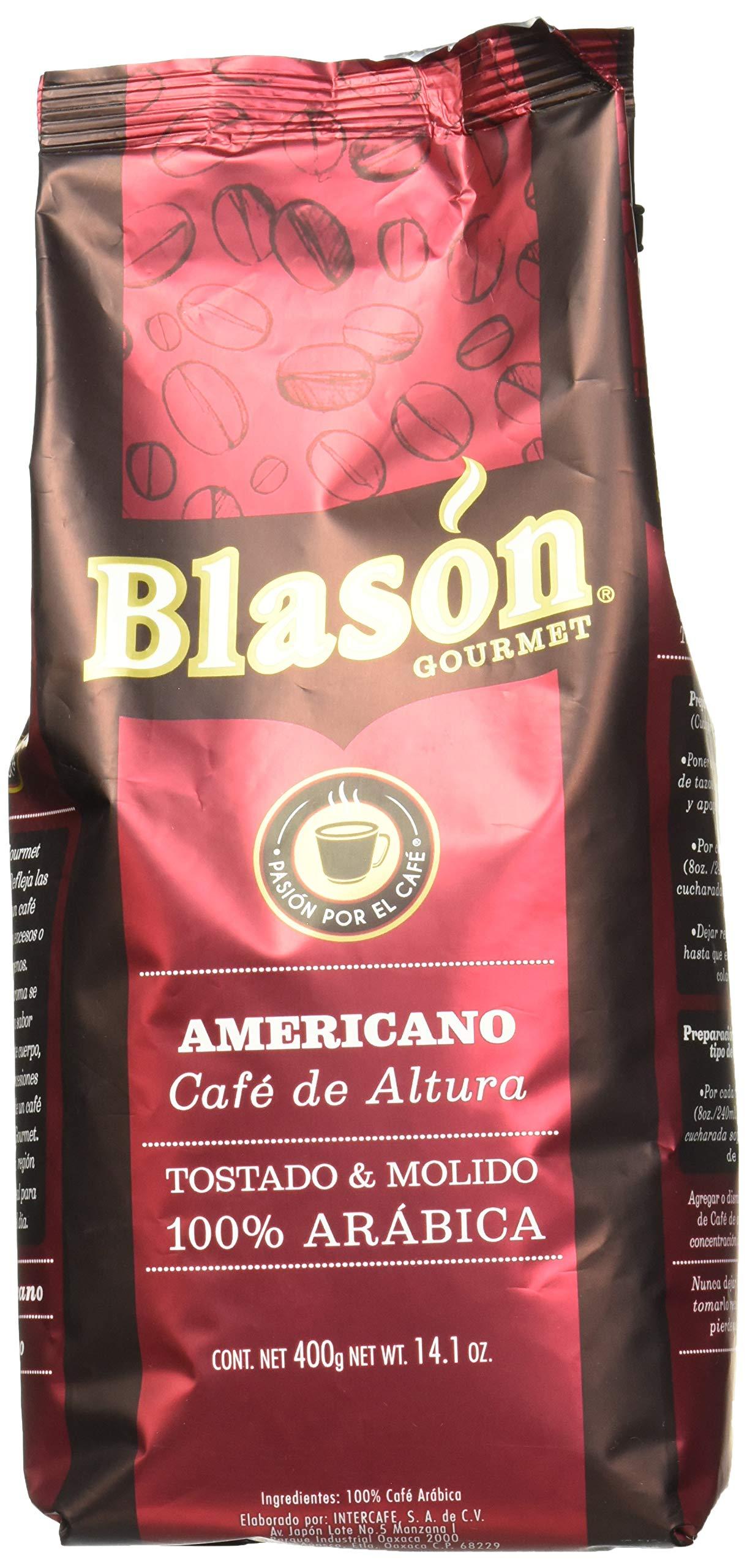 Mexican Blason Americano Ground Coffee, 14.1 Ounces