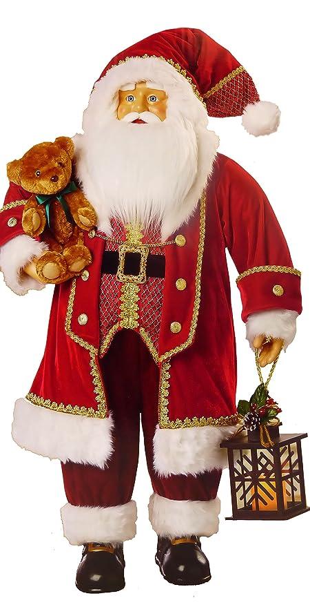 3 M Tamaño Grande de Papá Noel tradicional rojo tela de ...