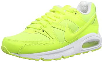 best website 0a50e 4dff8 Nike Air Max Command GS Running Shoes Yellow Size  4.5 UK