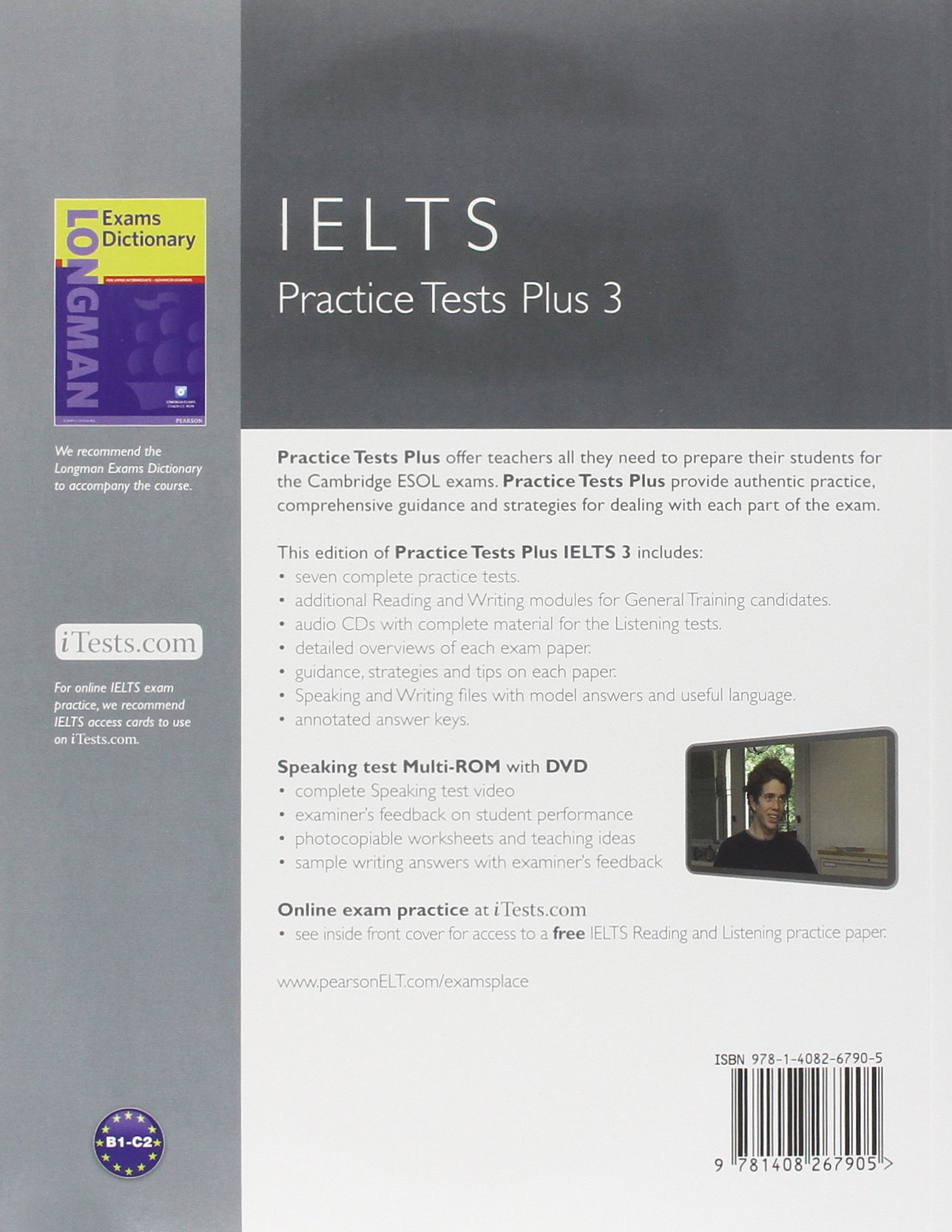 Practice Tests Plus IELTS 3 with Key with Multi-ROM and