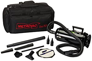 Metro Vacuum MDV3TCA DataVac/3 Pro Series 1.7-HP, 2-Speed Motor Toner Vac with Carrying Case