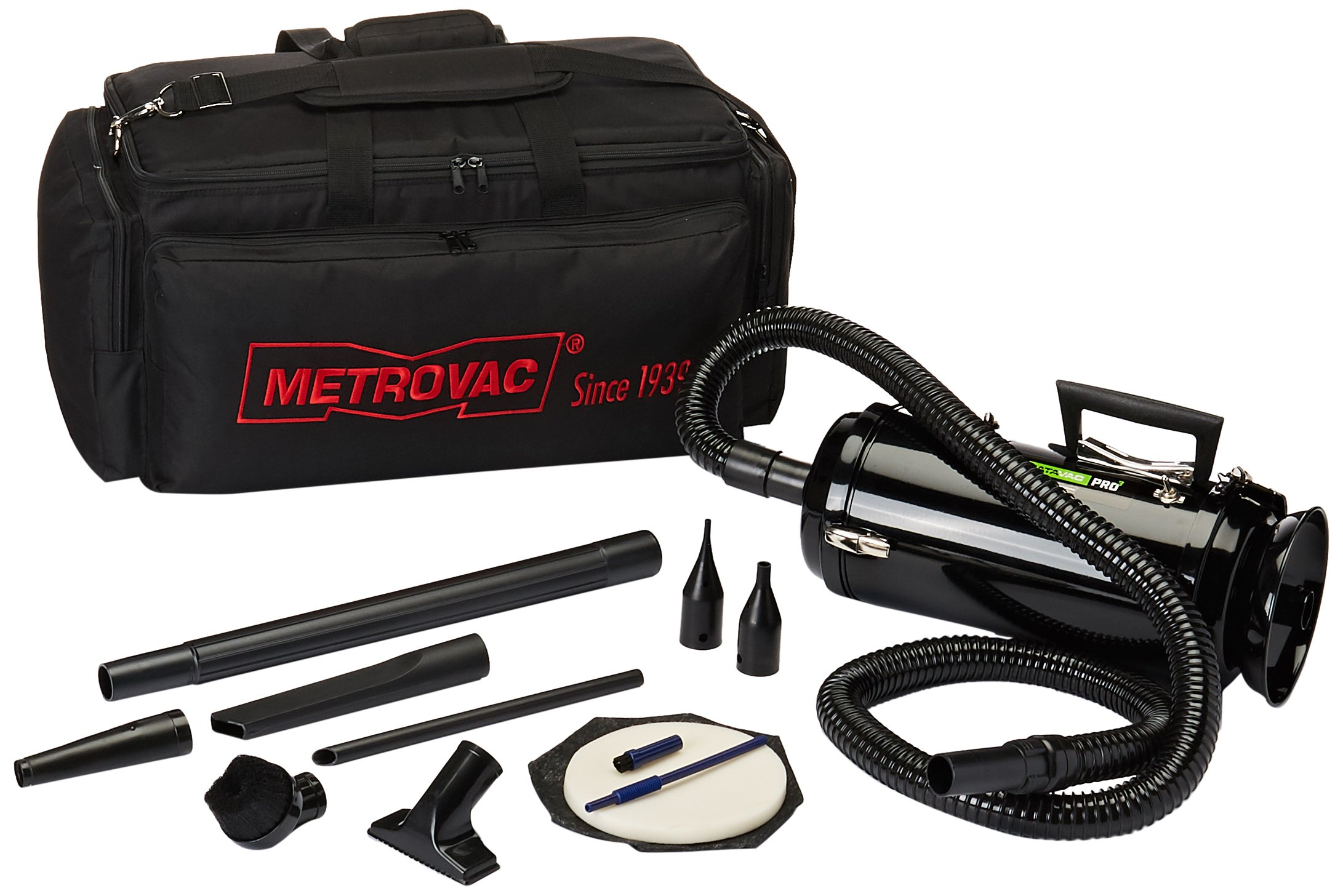 Metro Vacuum MDV3TCA DataVac/3 Pro Series 1.7-HP, 2-Speed Motor Toner Vac with Carrying Case by Metro Vacuum