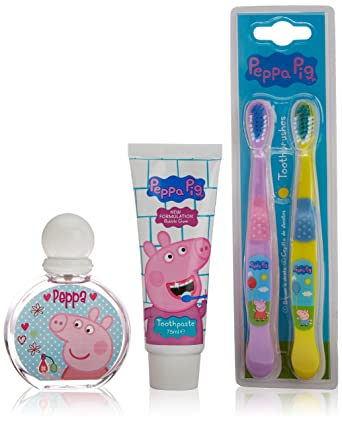 Cartoon peppa pig lote 3 piezas: amazon.es: supermercado