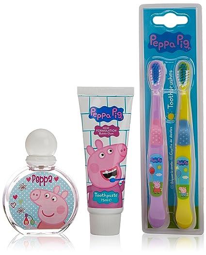 Peppa Pig Set de Baño - 3 Piezas