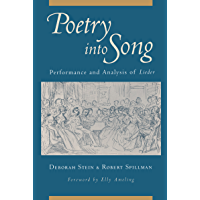Poetry into Song: Performance and Analysis of Lieder book cover