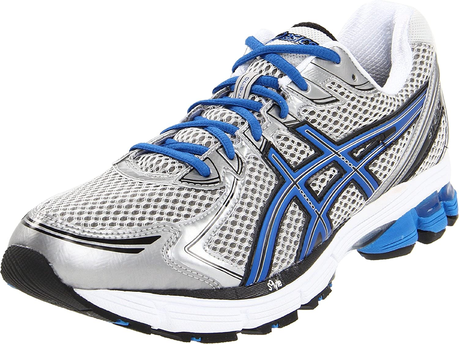 Amazon.com | ASICS Men's Gt-2170 Running Shoe, Lightning/Electric  Blue/Black, 7.5 M US | Road Running