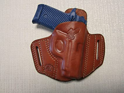 formed BROWN leather Iwb holster with body shiel Springfield Armory 911 380 Cal