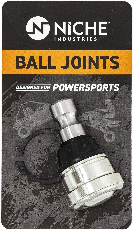 NICHE Ball Joint for Polaris 7082507 Ranger Crew 570 1000 RZR XP S 900 General ACE Diesel HST Upper Lower 4 Pack