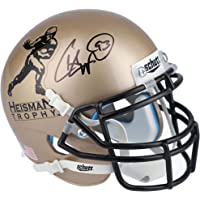 $119 » Charlie Ward Florida State Seminoles Autographed Riddell VSR4 Gold College Football's Best Mini Helmet - Autographed College Mini Helmets