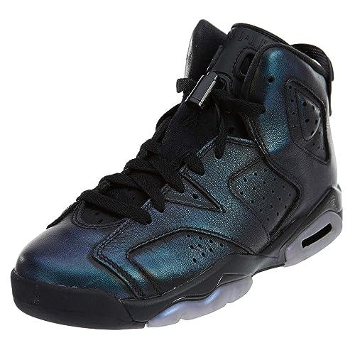 1fba39a3c76d6e Nike Jordan Air 6 Retro AS GS Black White 907960-015 (Size  3.5Y ...