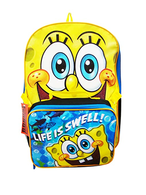 Bob Esponja Mochila y Life Is Swell Lunch Box
