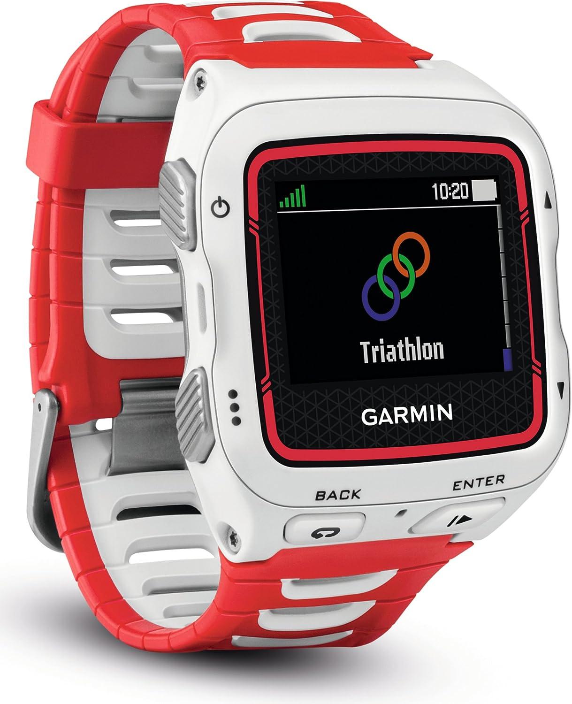 Garmin Forerunner 920XT - Reloj GPS, color blanco / rojo: Amazon.es: Deportes y aire libre