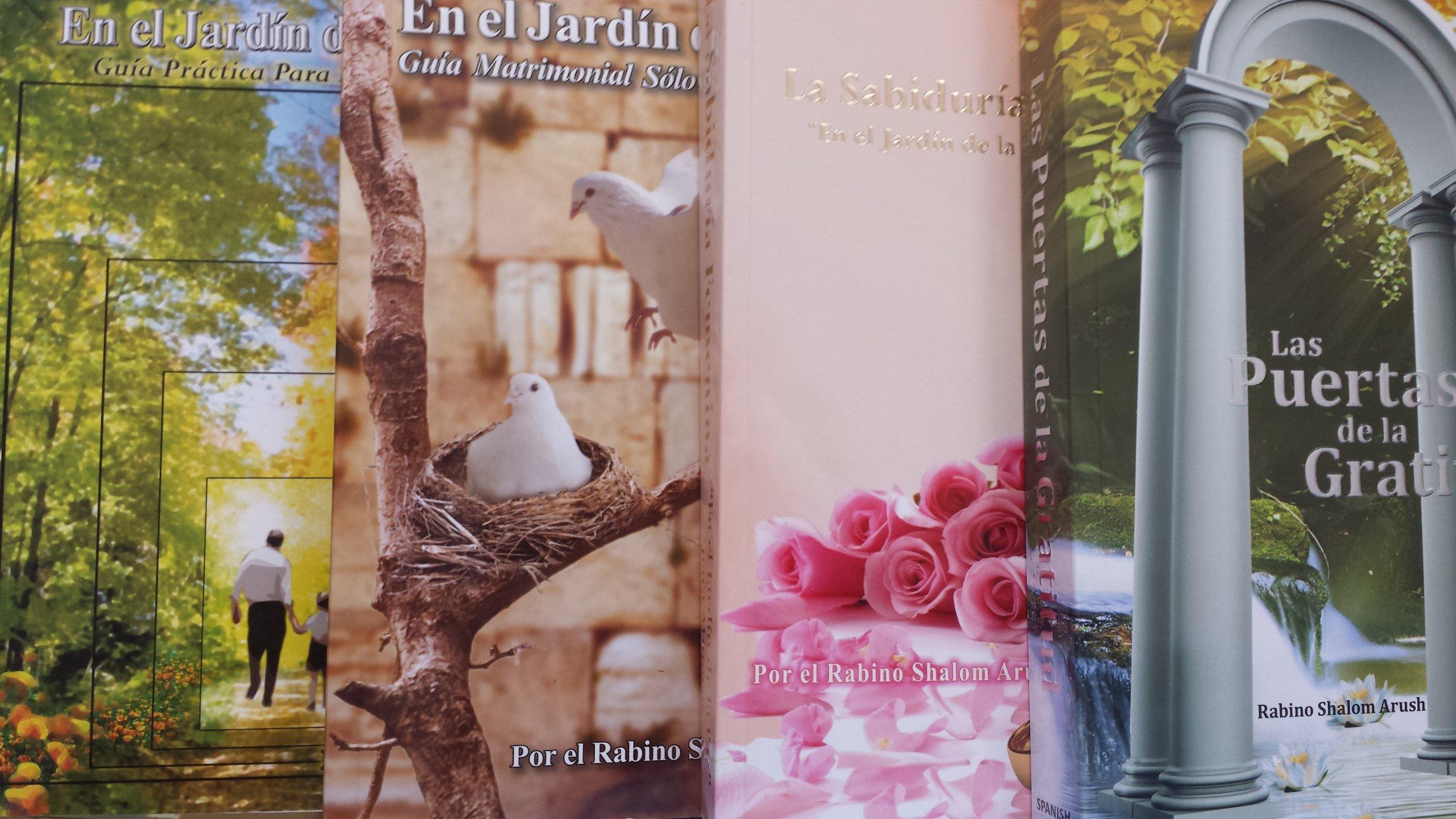 6 Libros Del Rav Arush: Rabino Shalom Arush: Amazon.com: Books