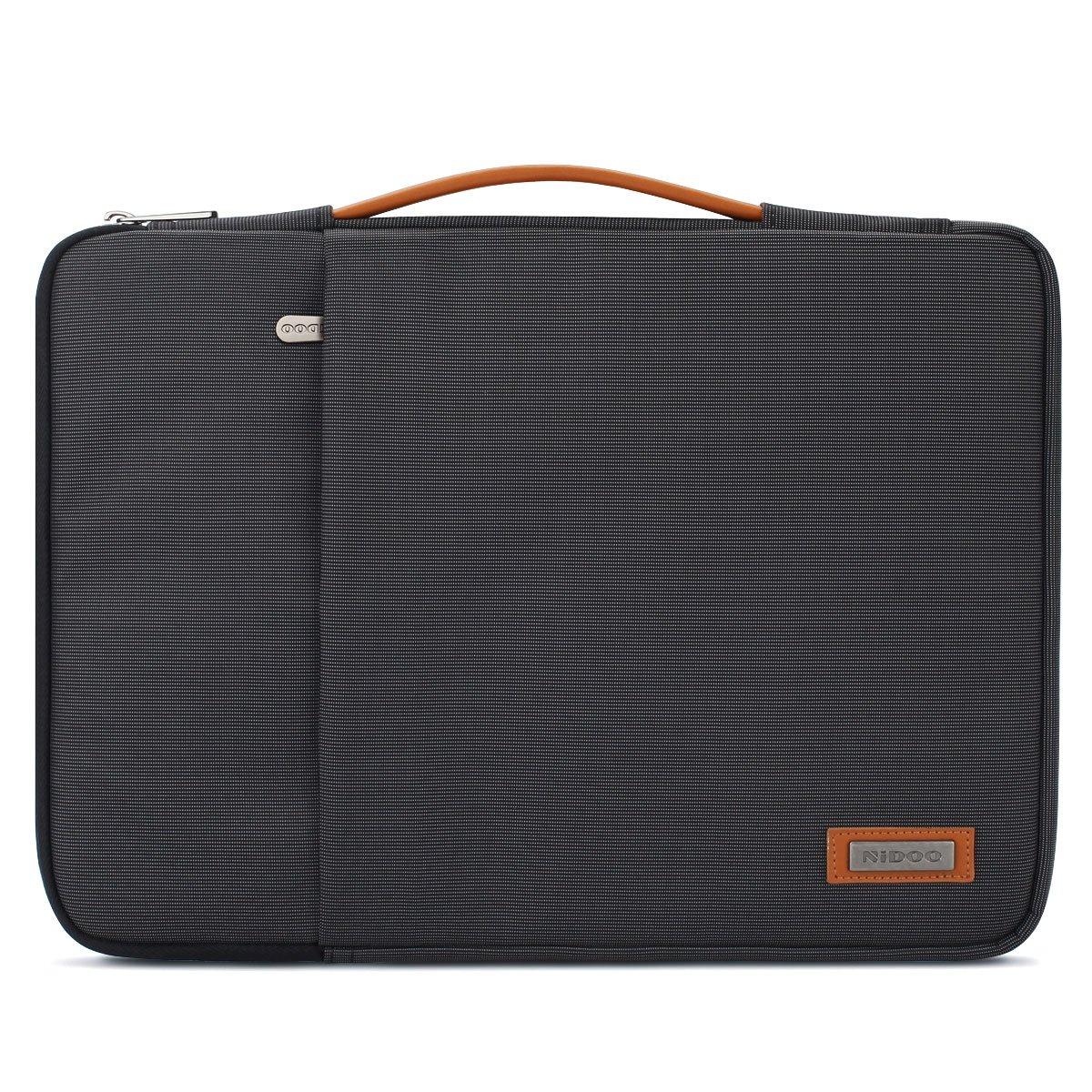 NIDOO 14 Inch Laptop Sleeve Case Notebook Bag Protective Handbag for 14'' Lenovo Chromebook S330 / 14'' Lenovo ThinkPad A485 E485 / 14'' HP ProBook 640 645 G4 440 G6 / 14'' Dell Inspiron 5481 5482 5490