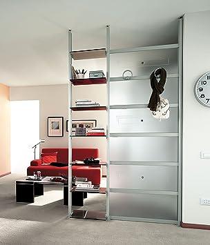 Amazon De Emporio3 Bucherregal Trennwand Moderne Design Wohnzimmer