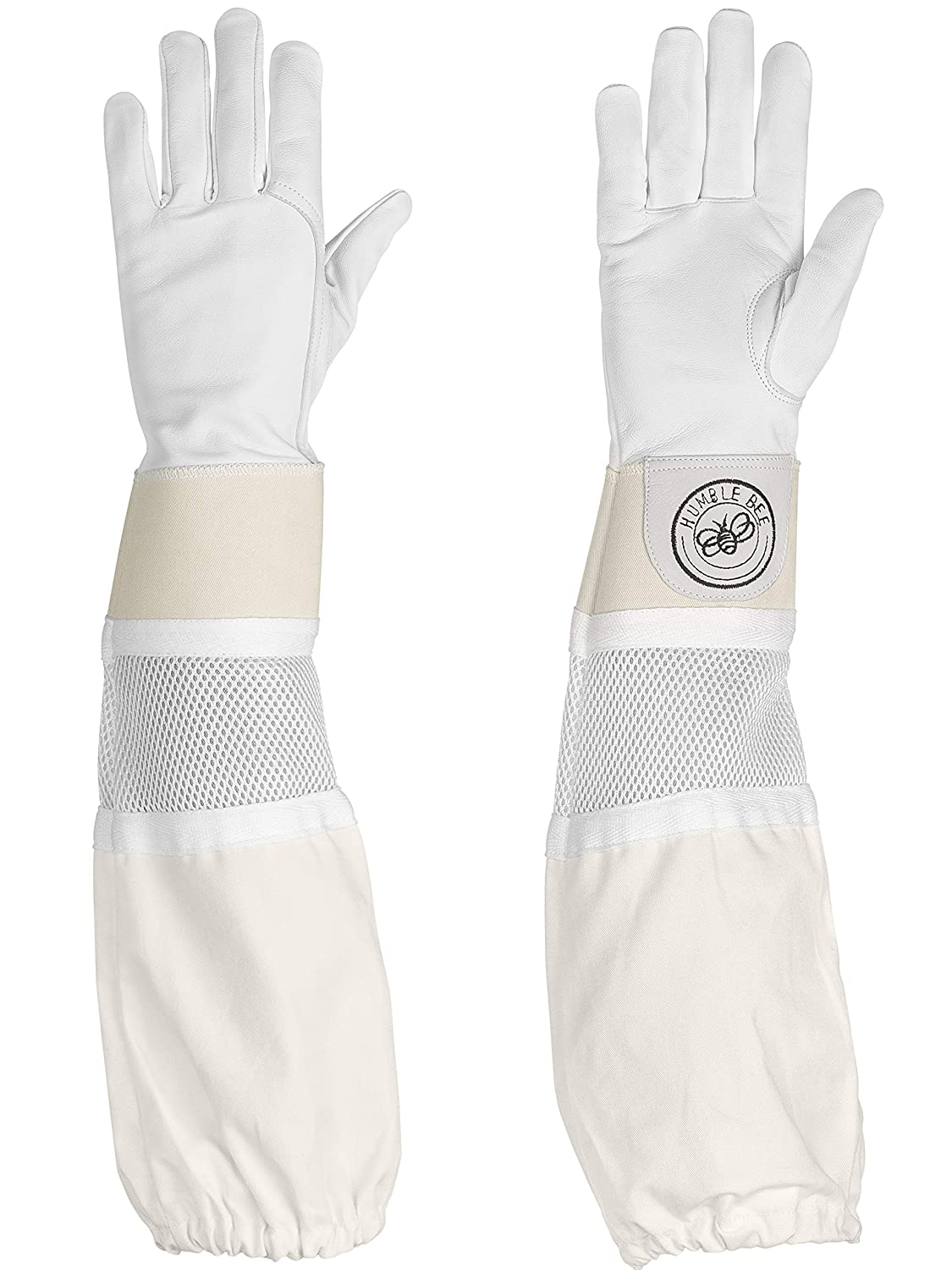 Humble Bee 114-S Beekeeping Gloves with Reinforced and Ventilated Cuffs (Small)