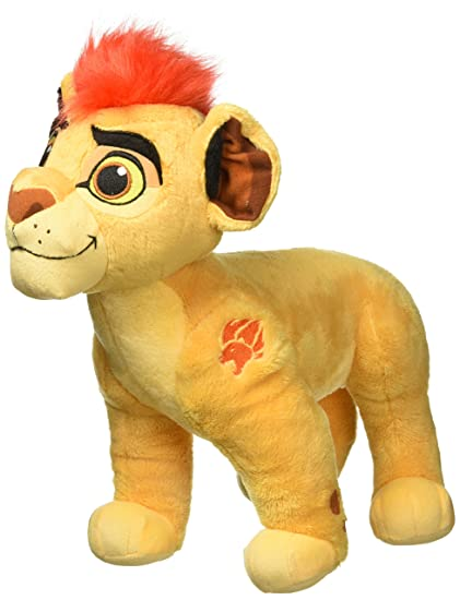 Amazon Com Disney Lion Guard Kion Large Plush Toys Games