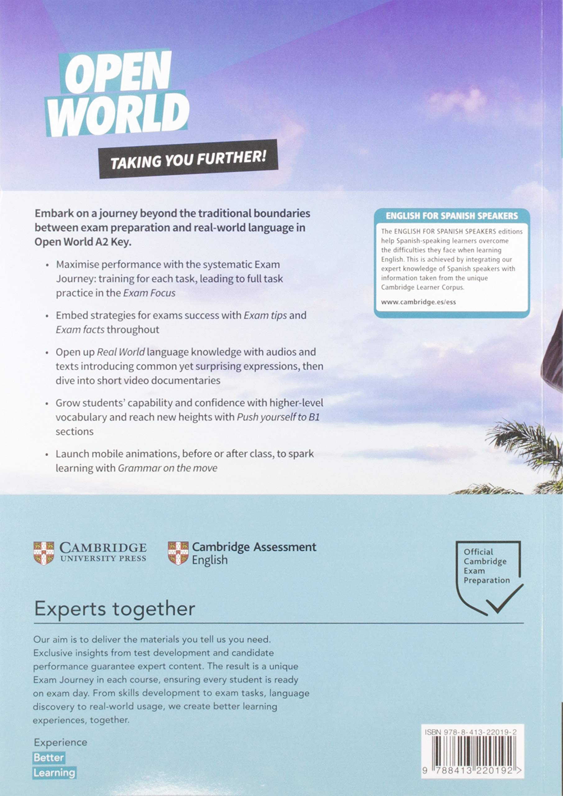 Open World Key Self-study Pack Students Book with Answers and Workbook with Answers English for Spanish Speakers: Amazon.es: Cowper, Anna, White, Susan, Dignen, Sheila: Libros